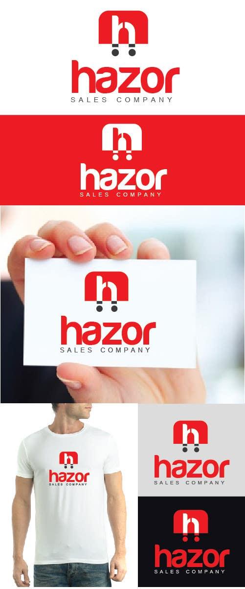 """Konkurrenceindlæg #97 for Design company Logo """"Hazor"""""""
