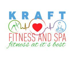 #19 para Design a Logo for KRAFT fitness and spa por BNDS