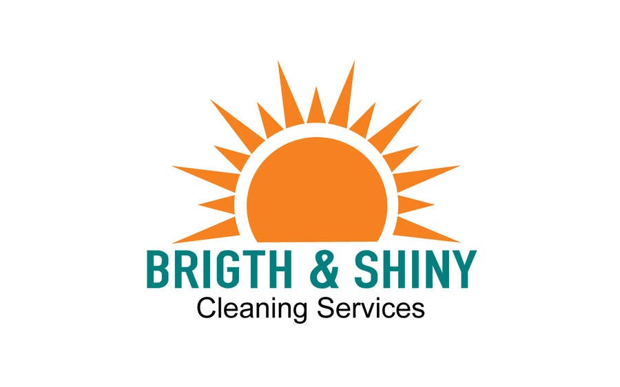 #197 for Design a Simple Logo for Bright & Shiny Cleaning Services by jeganr