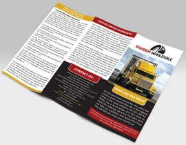 #2 untuk Design a Brochure for semi truck tire wholesale business oleh mamun313