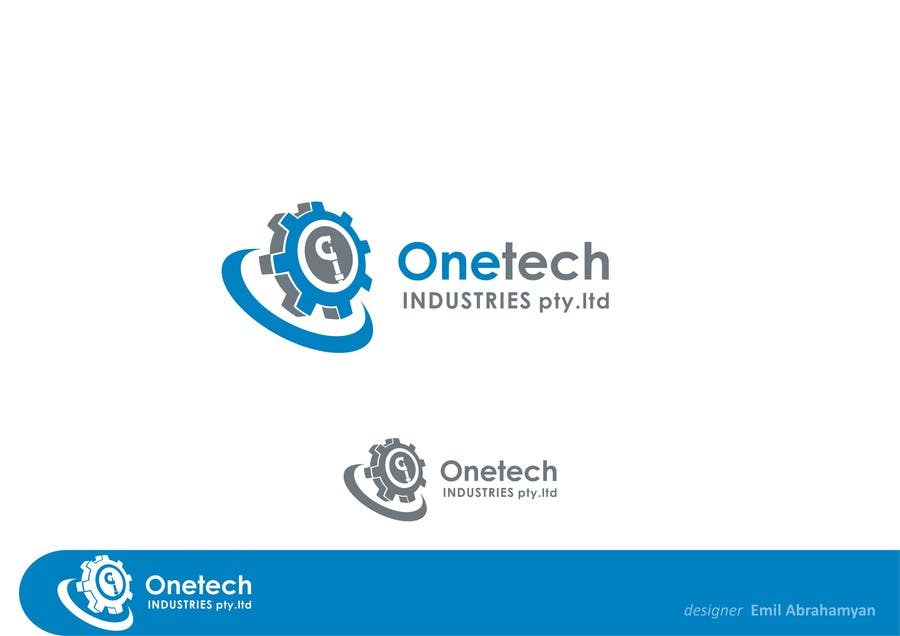 #8 for onetech industries logo design by emilan