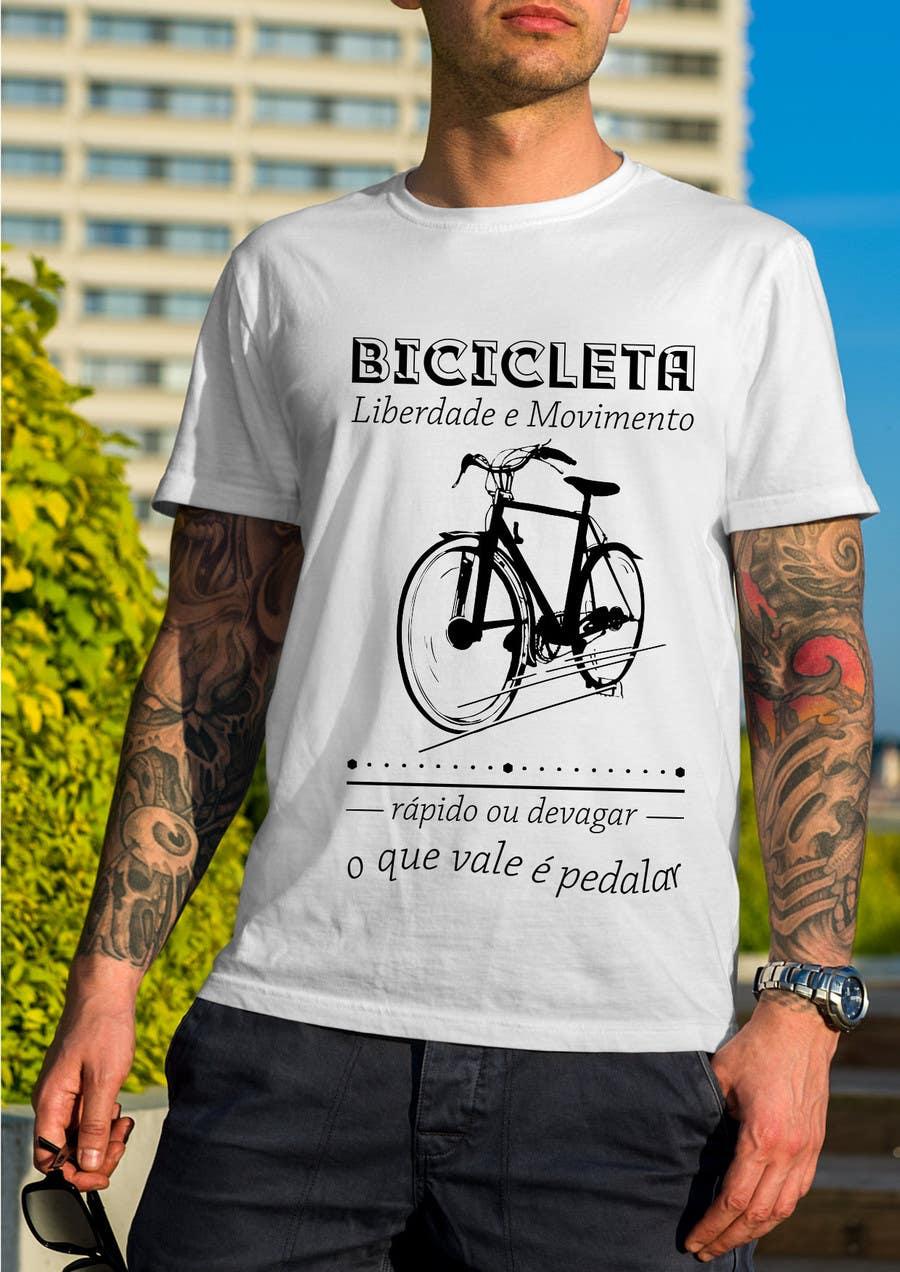 Contest Entry #17 for Criar uma Camiseta para Bicicleta