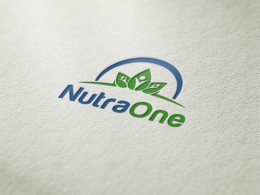 Proposition n°                                        161                                      du concours                                         Design a Logo for NutraOne Supplement Line