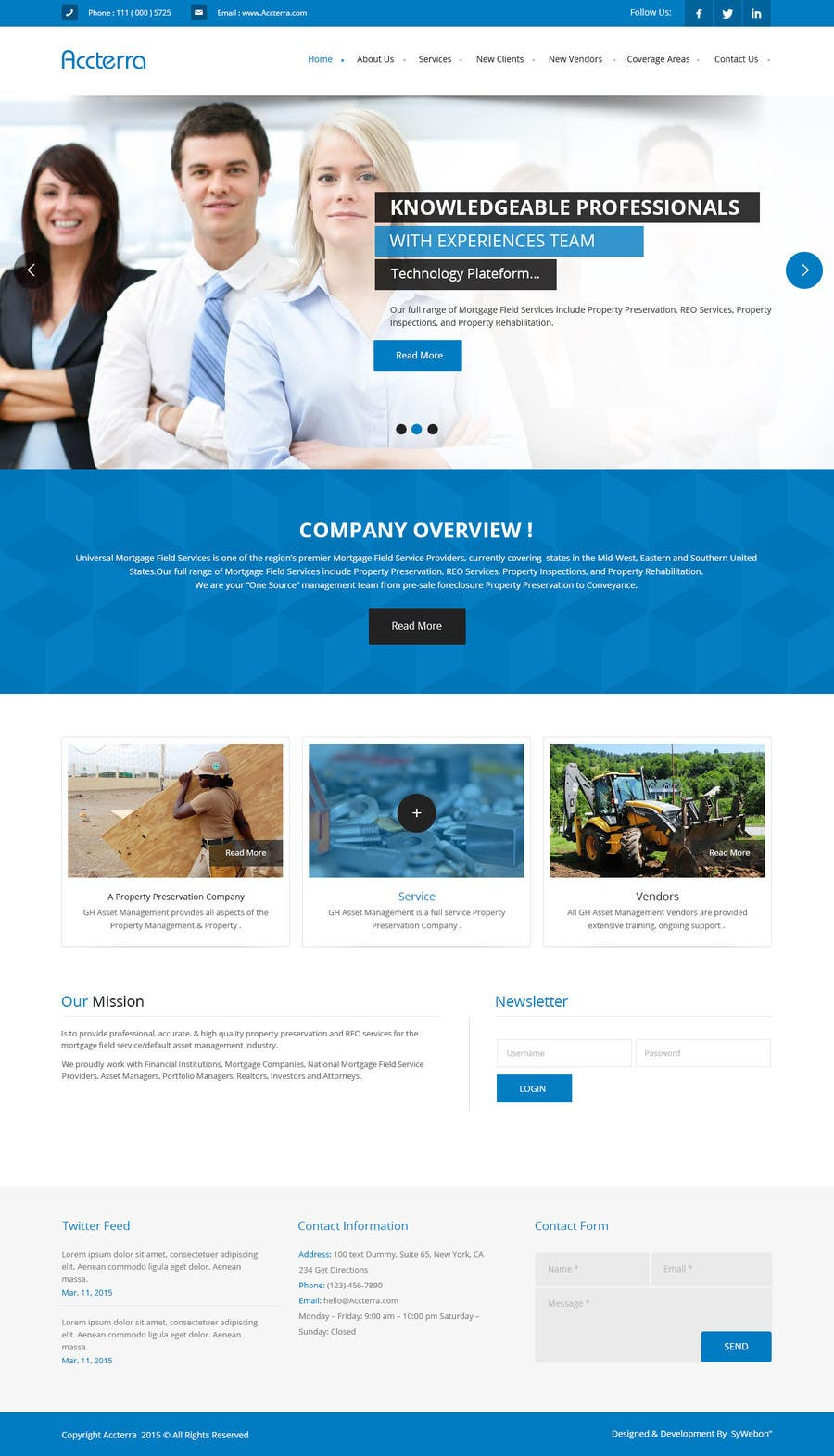 Proposition n°9 du concours Build an ***AMAZING*** website for our company :-)