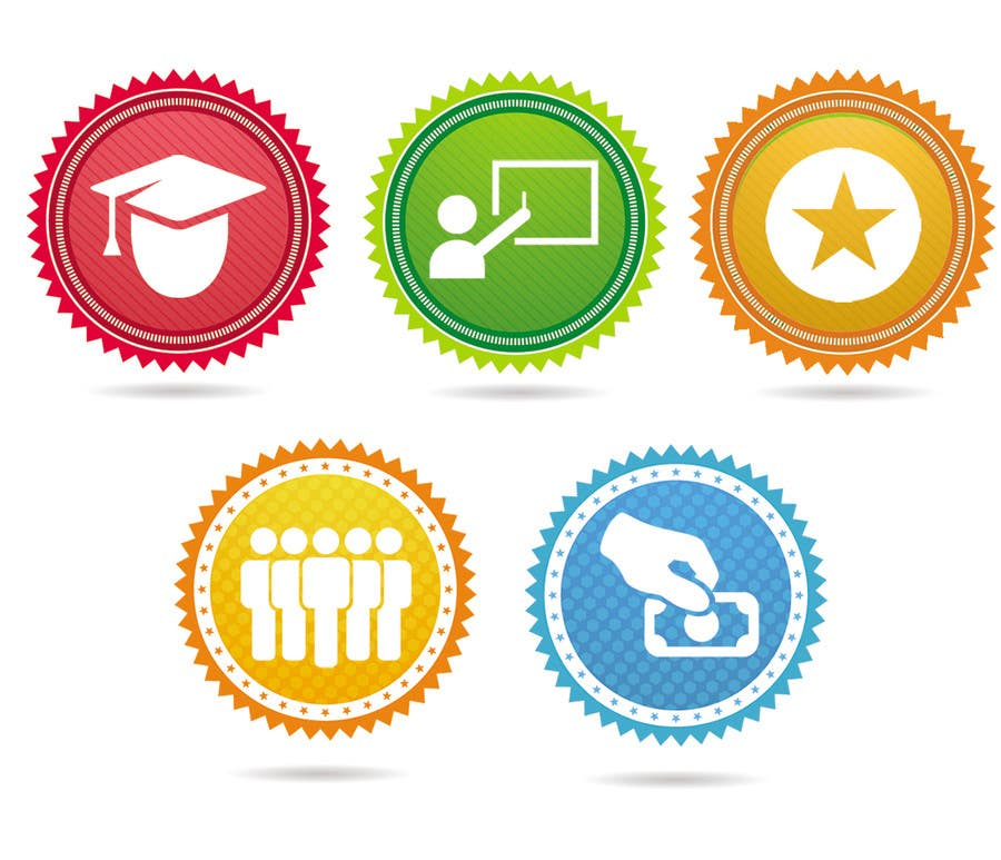 Kilpailutyö #5 kilpailussa Design 5 Template Badges