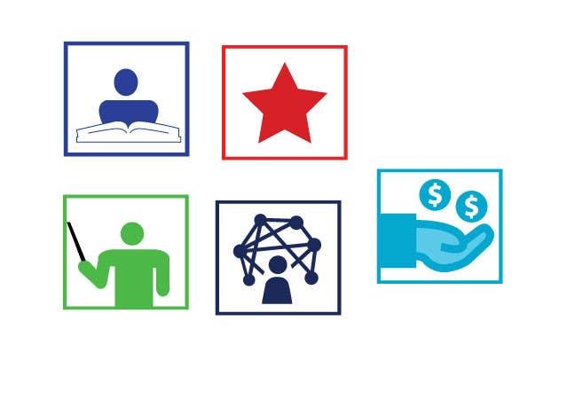 Kilpailutyö #2 kilpailussa Design 5 Template Badges