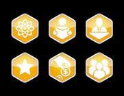 Graphic Design Kilpailutyö #3 kilpailuun Design 5 Template Badges