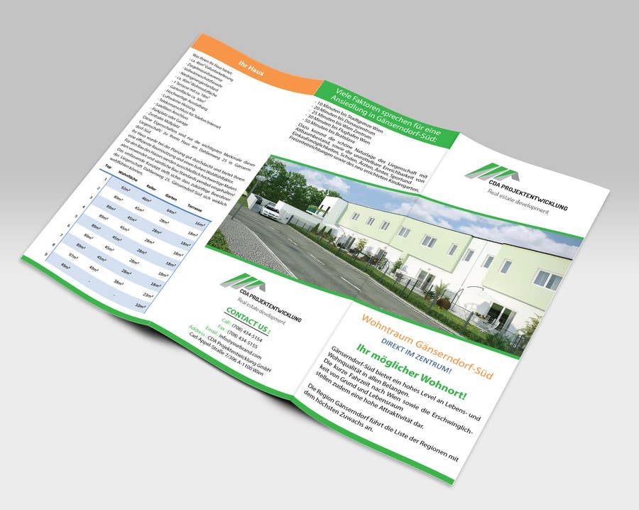 Contest Entry #                                        3                                      for                                         Business Cards and Brochure Design for real estate company