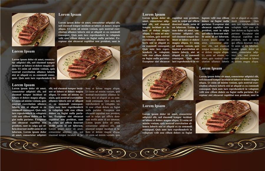 Inscrição nº 12 do Concurso para best food brochure