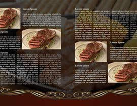 #12 for best food brochure by alidicera