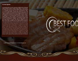 nº 13 pour best food brochure par alidicera