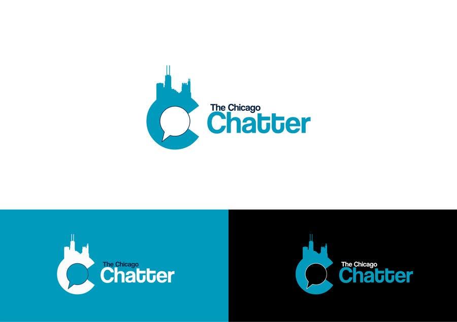 Konkurrenceindlæg #                                        22                                      for                                         Design a Logo for The Chicago Chatter facebook page