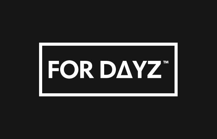 """Proposition n°                                        185                                      du concours                                         Design a Logo for """"for dayz"""" action sports brand"""