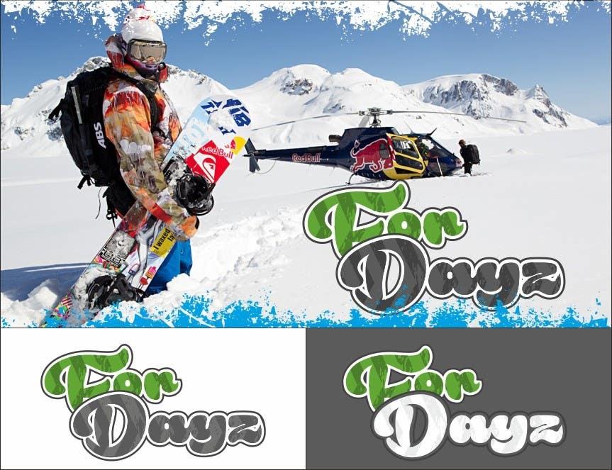 "Konkurrenceindlæg #                                        659                                      for                                         Design a Logo for ""for dayz"" action sports brand"