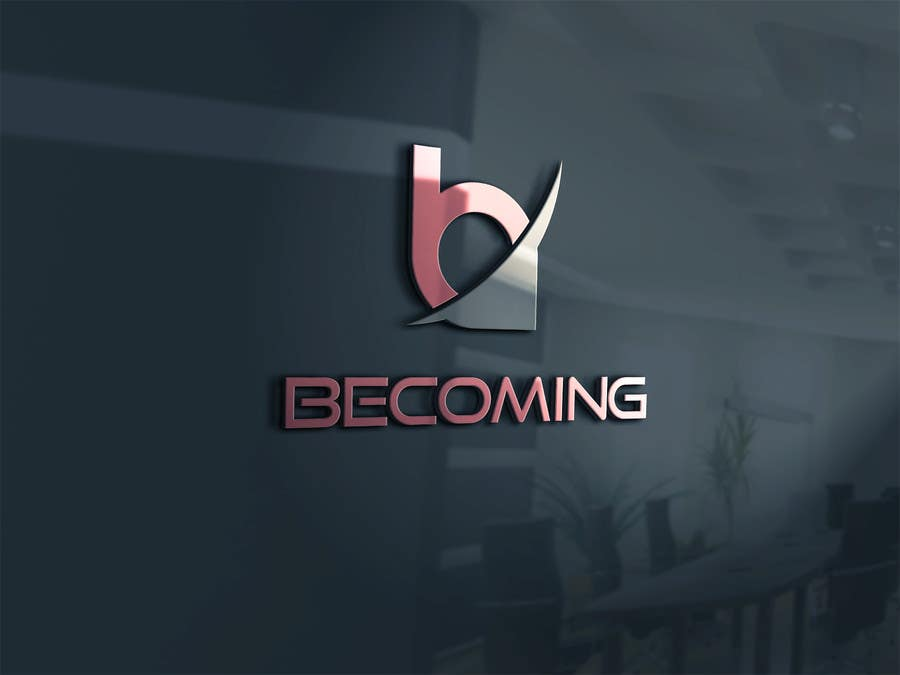 "Inscrição nº 22 do Concurso para Design a Logo for ""Becoming"" Gym Clothing"