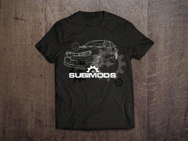 #12 for 3 Shirt Designs For A Subaru Parts Company af genesispeche