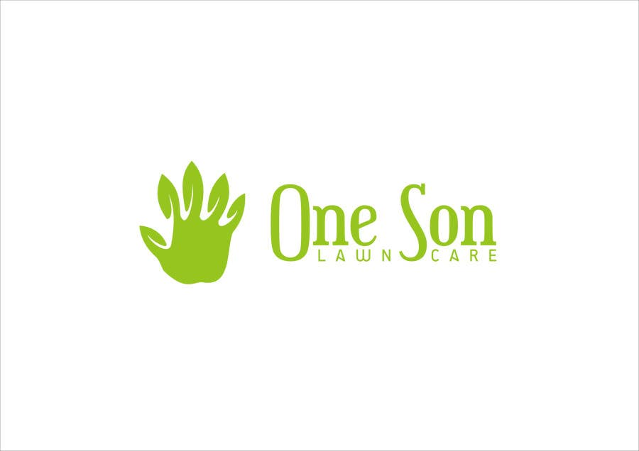 Penyertaan Peraduan #33 untuk Show me what you got! Design a Logo for my new company One Son Lawn Care
