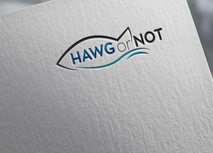 Contest Entry #14 for Design a Logo for my Fish Blog (Hawg or Not)