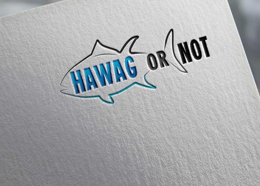 Contest Entry #                                        26                                      for                                         Design a Logo for my Fish Blog (Hawg or Not)