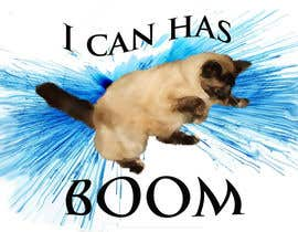 #10 for Design a T-Shirt for a famous YouTube video to be sold online- Featuring a cat and explosion by pyrotiton