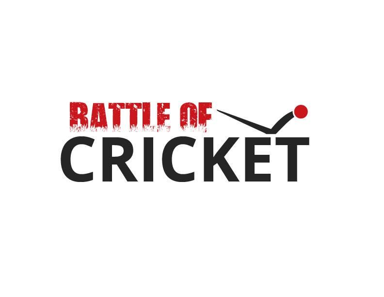 Contest Entry #                                        21                                      for                                         Design a Logo for cricket