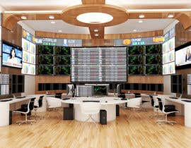 #26 para Design a high tech stock trading room por giarilham