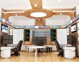 #48 para Design a high tech stock trading room por giarilham