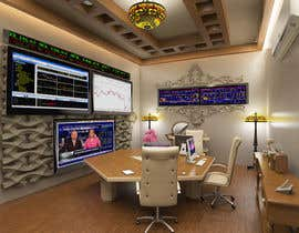 #37 para Design a high tech stock trading room por fadi92