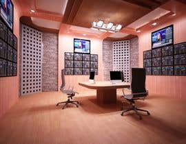 #43 para Design a high tech stock trading room por archivis