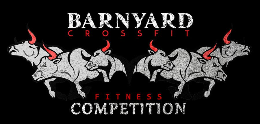 Konkurrenceindlæg #                                        5                                      for                                         Barnyard Beatdown CrossFit Competition Logo