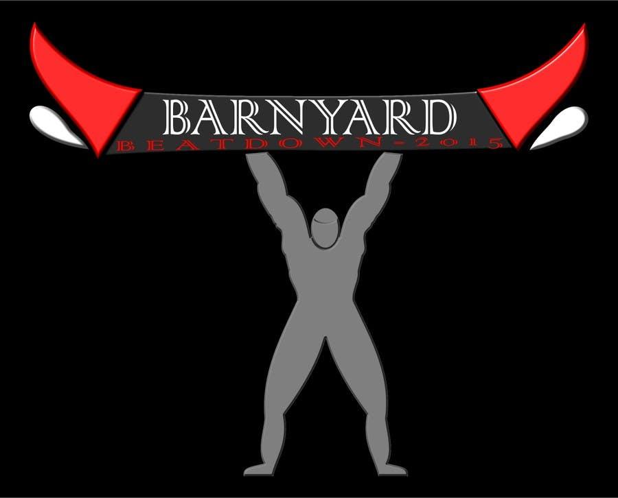 Konkurrenceindlæg #                                        11                                      for                                         Barnyard Beatdown CrossFit Competition Logo