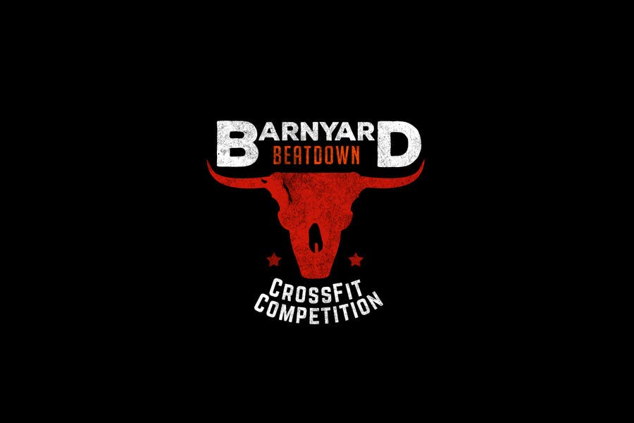 Konkurrenceindlæg #                                        2                                      for                                         Barnyard Beatdown CrossFit Competition Logo