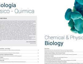 Nro 8 kilpailuun Create a stylish design and layout template for a scientific annual report käyttäjältä tamaragoiriz