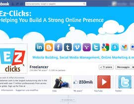 #15 for Design a Cool Banner For Ez-Clicks af holecreative