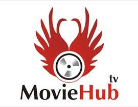 #78 para Design a Logo for MovieHub.Tv por inspiringlines1