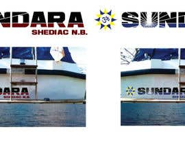 #31 for Create Text Design for Boat Name Banner on Hull of boat by tedatkinson123