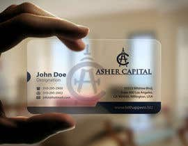 #167 cho Design some Business Cards for Asher Capital bởi mamun313