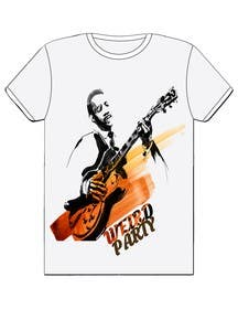 Nro 20 kilpailuun Design a T-Shirt for the band Weird Party käyttäjältä Nihadricci