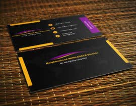 #10 cho Design some Business Cards for Neighborhood Wholesale Electric bởi mahiweb123