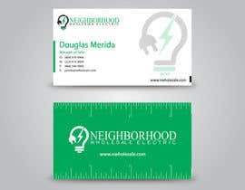 #24 cho Design some Business Cards for Neighborhood Wholesale Electric bởi benson92