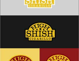 #28 cho Design a Logo for HIGH SHISH Cigarillos bởi mafy2015