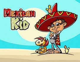 #1 untuk Illustration of 3 Cartoon Mexican Guys oleh pixell