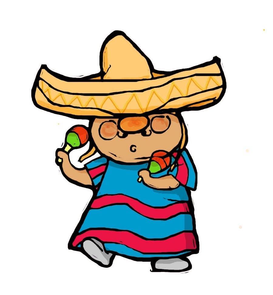 Inscrição nº 4 do Concurso para Illustration of 3 Cartoon Mexican Guys