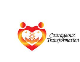 #28 for Courageous Transformation Logo af ninaekv