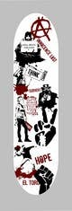Ảnh thumbnail bài tham dự cuộc thi #                                                8                                              cho                                                 Skateboard collage style design with an anarchy theme (pictures provided)