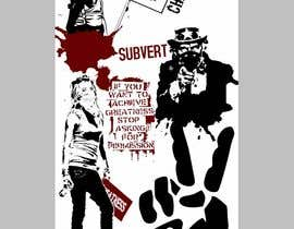 #8 cho Skateboard collage style design with an anarchy theme (pictures provided) bởi seteki