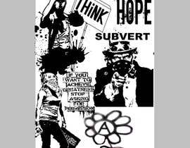 #10 untuk Skateboard collage style design with an anarchy theme (pictures provided) oleh andrecosta1989