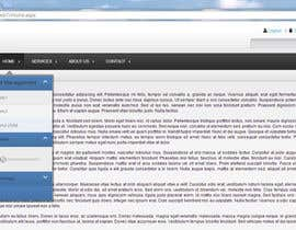 ramidesign tarafından Design a Website Mockup for control panel menu için no 2