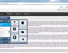 SyShade tarafından Design a Website Mockup for control panel menu için no 3