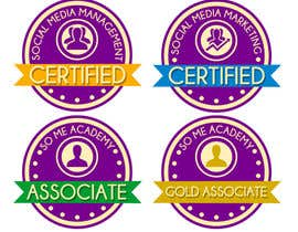 #7 cho Create certification badge bởi jonnaDesign008